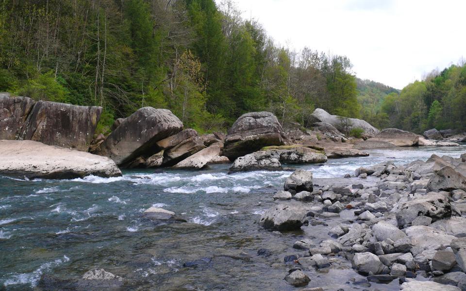 Gauley Fluss in West Virginia
