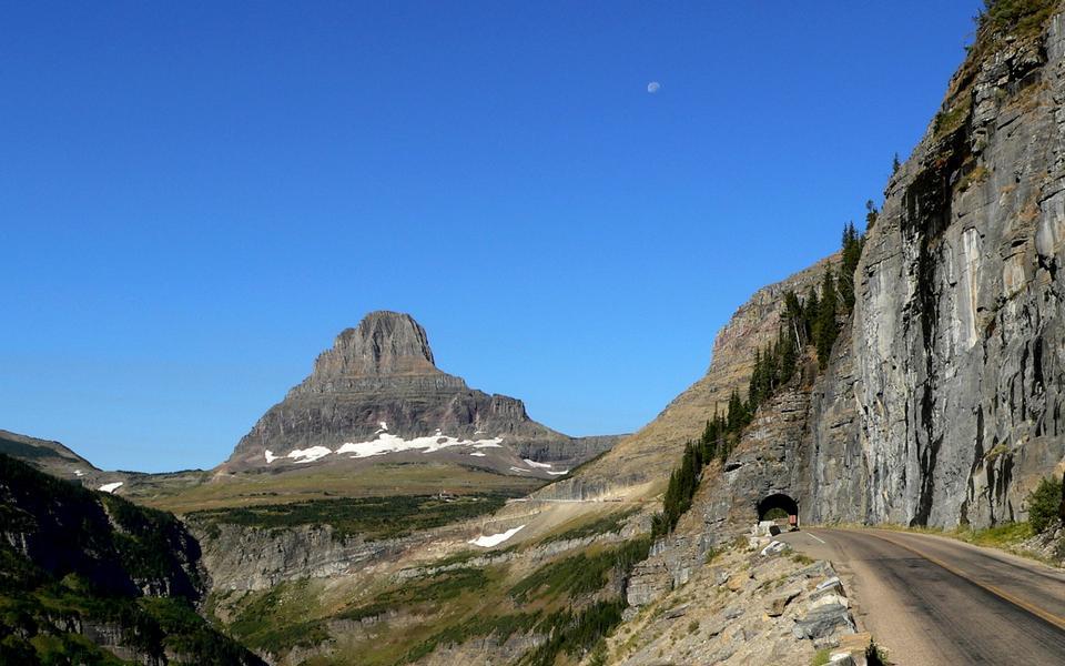 Passe Glacier National Park Logan, Montana, USA