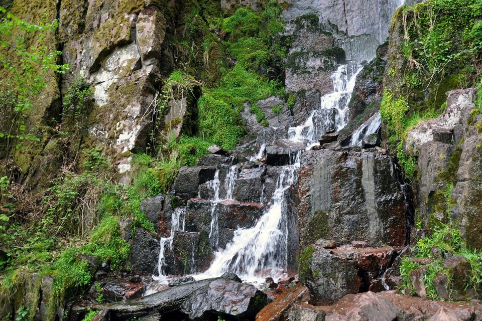 Nideck waterfall, Alsace, France
