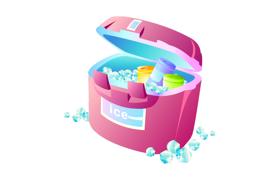 氷とクーラー