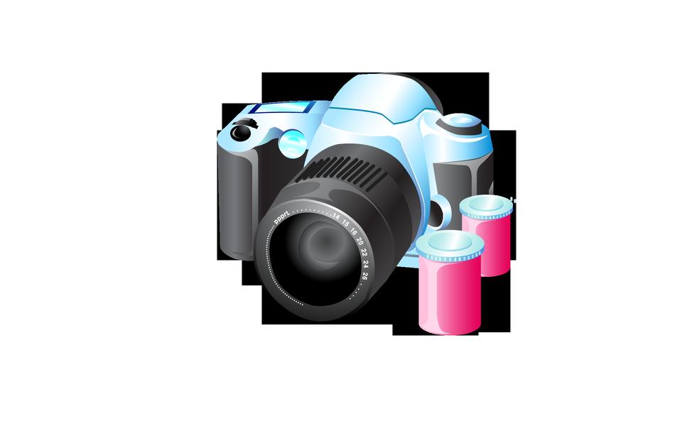 Film appareil photo icône