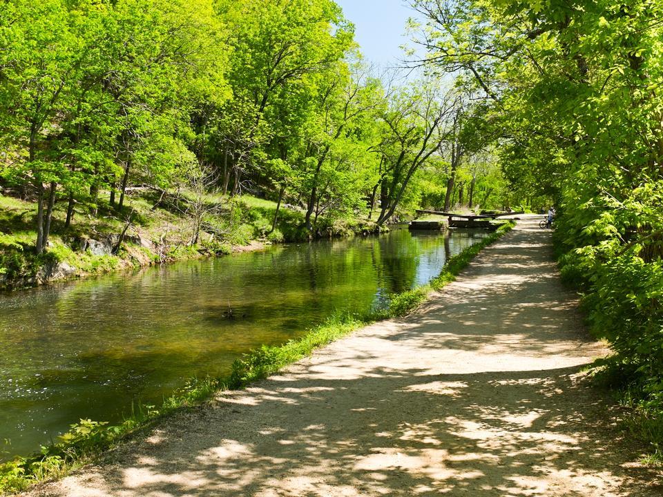 Канал Чесапик и Огайо, Great Falls, MD
