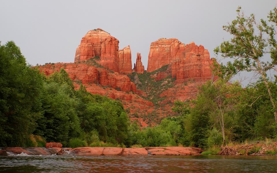 Cathedral Rock à Sedona