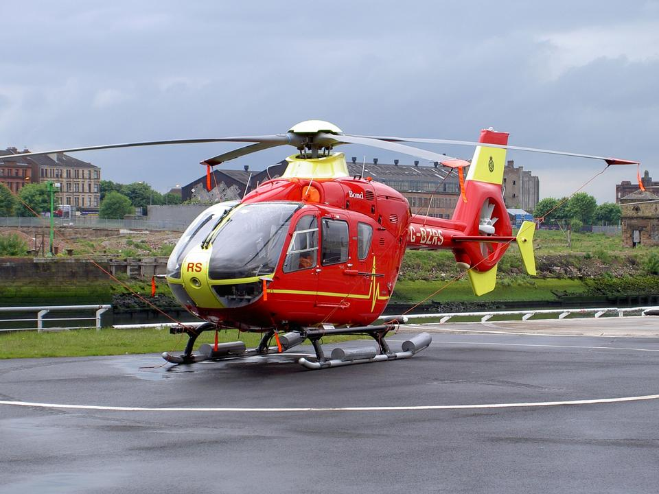 直升機EC135直升機