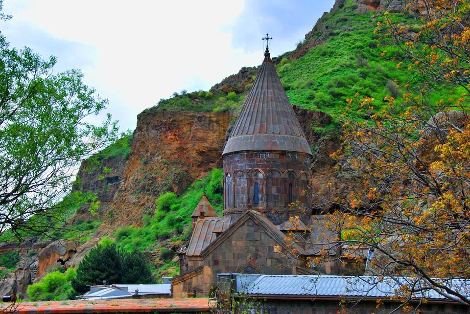 格加尔德修道院修道院在亚美尼亚