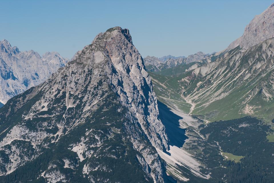 belvédère de Schachen à Reintal en montagne Wetterstein