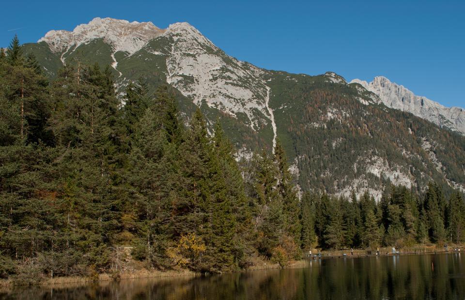 BARM lac et montagnes Wetterstein