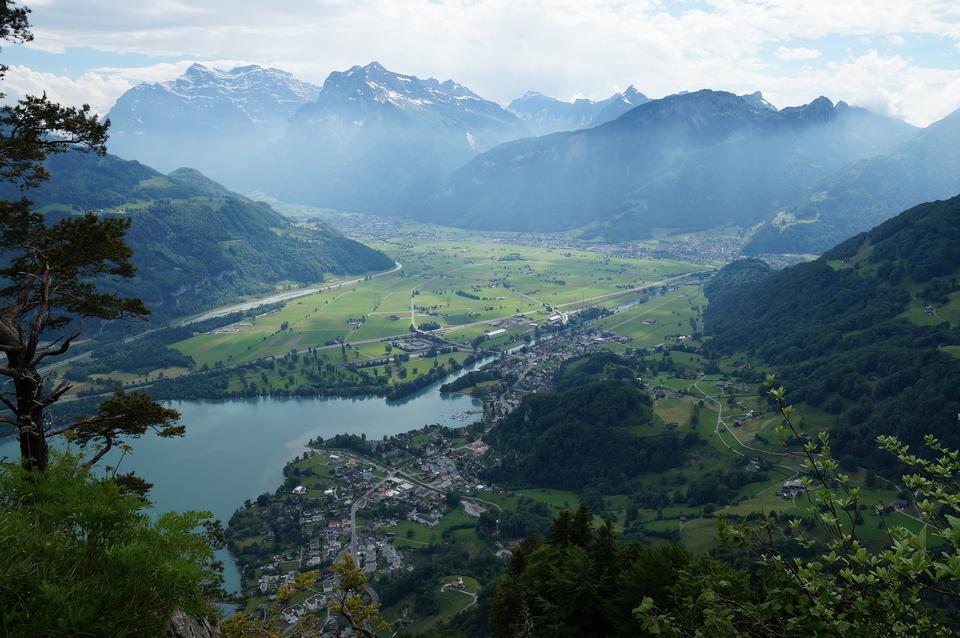 Linthebene in eastern Switzerland