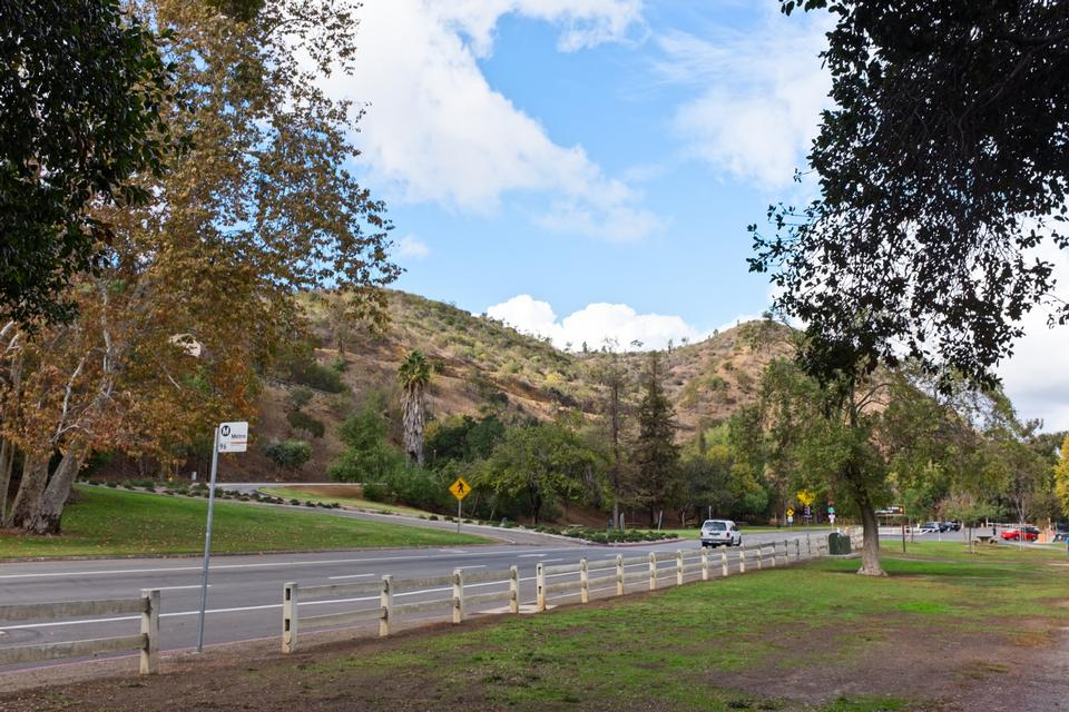 格里菲斯公園,加州山丘