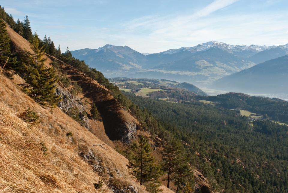 Karwendel山脈在奧地利