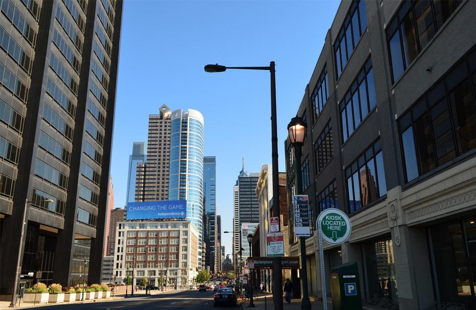 市容费城宾夕法尼亚州城市