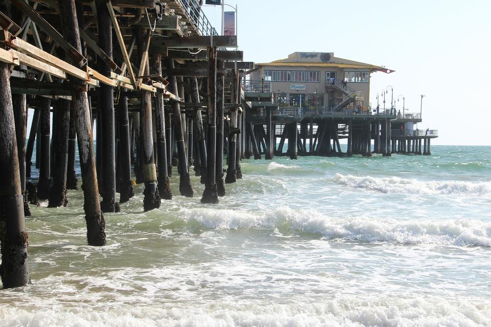 Santa Mónica Venice Beach en Los Ángeles, California
