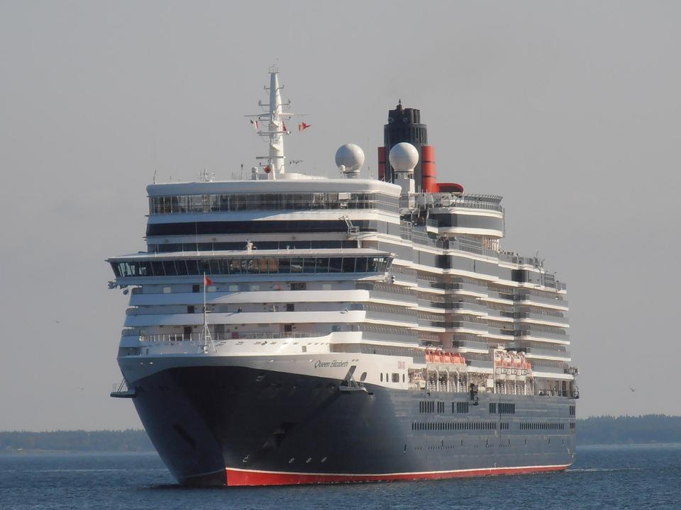 Famous cruise ship - Queen Elizabeth