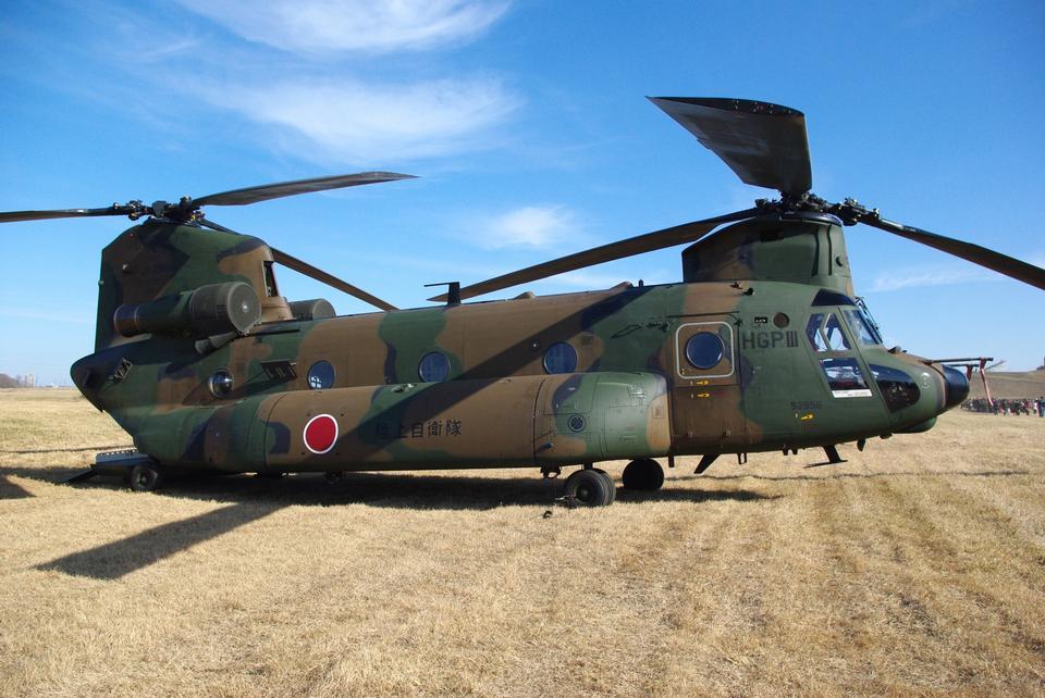 CH-47直升机飞机模型