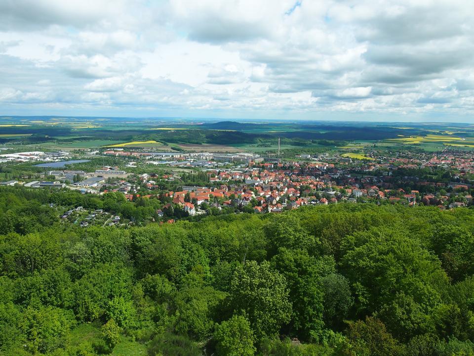 Health Resort town in Blankenburg Germany