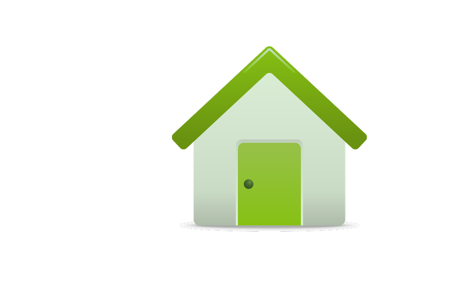 Illustrated house icon