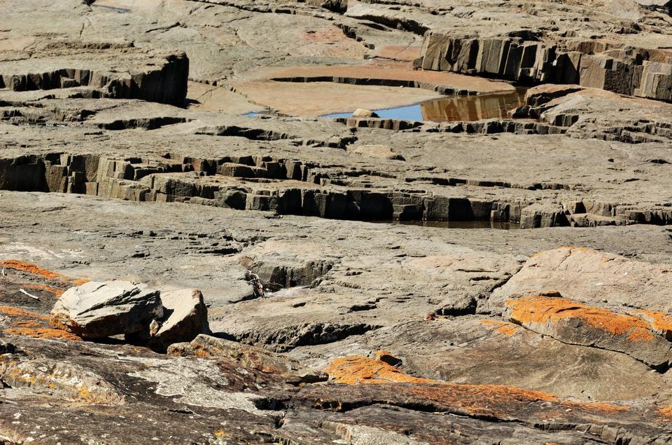Rocks Mersey Bluff Caravan Park Devonport, Australie