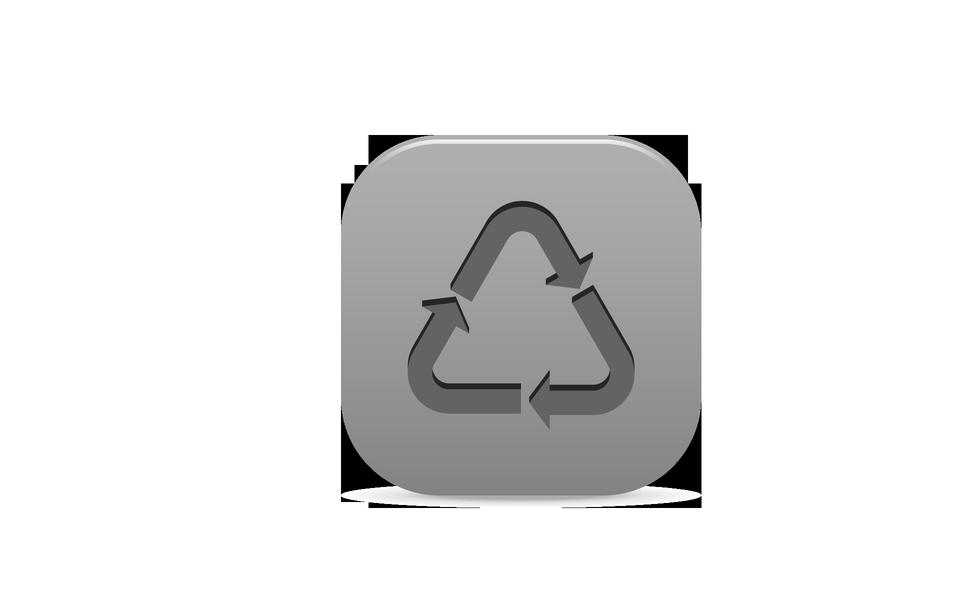 riciclare icona
