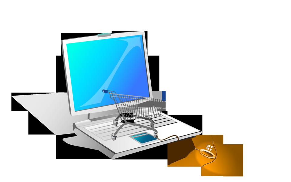 網上購物連接電腦