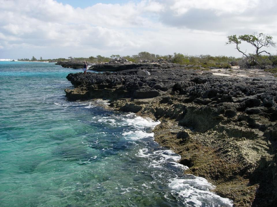 バハマのグレートイナグア島