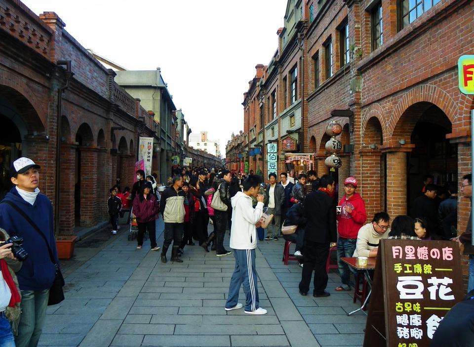 Alte Straße in China