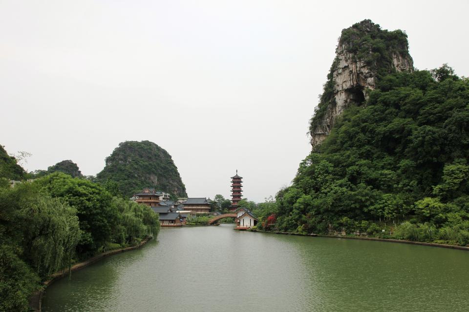 Mulonghu历史公园广西桂林