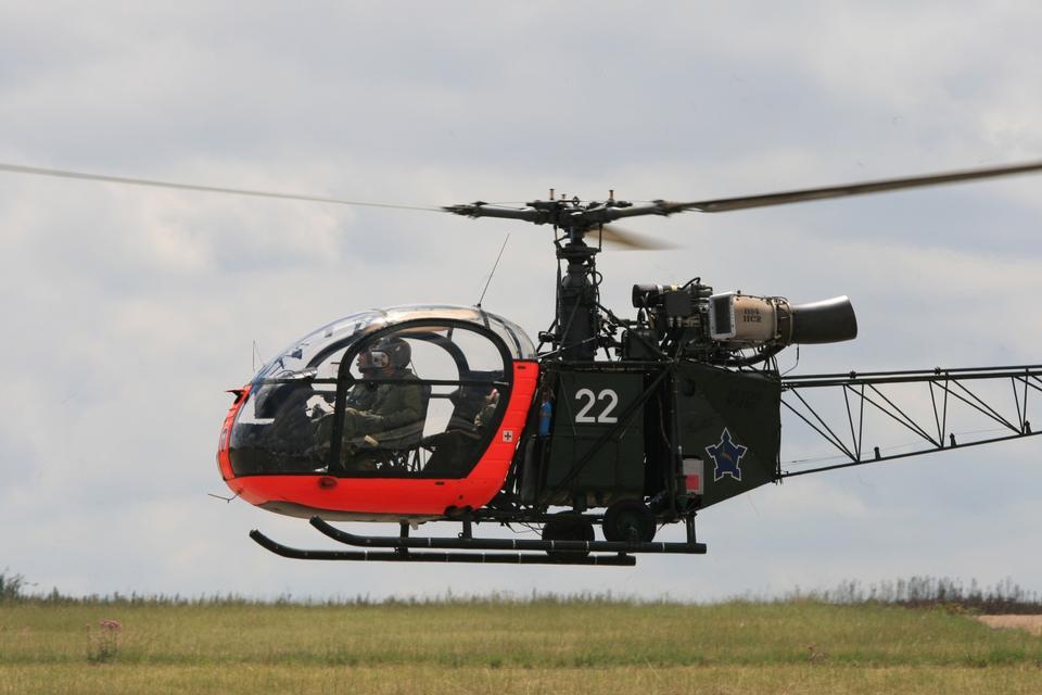 Helicopter Aerospatiale Alouette II