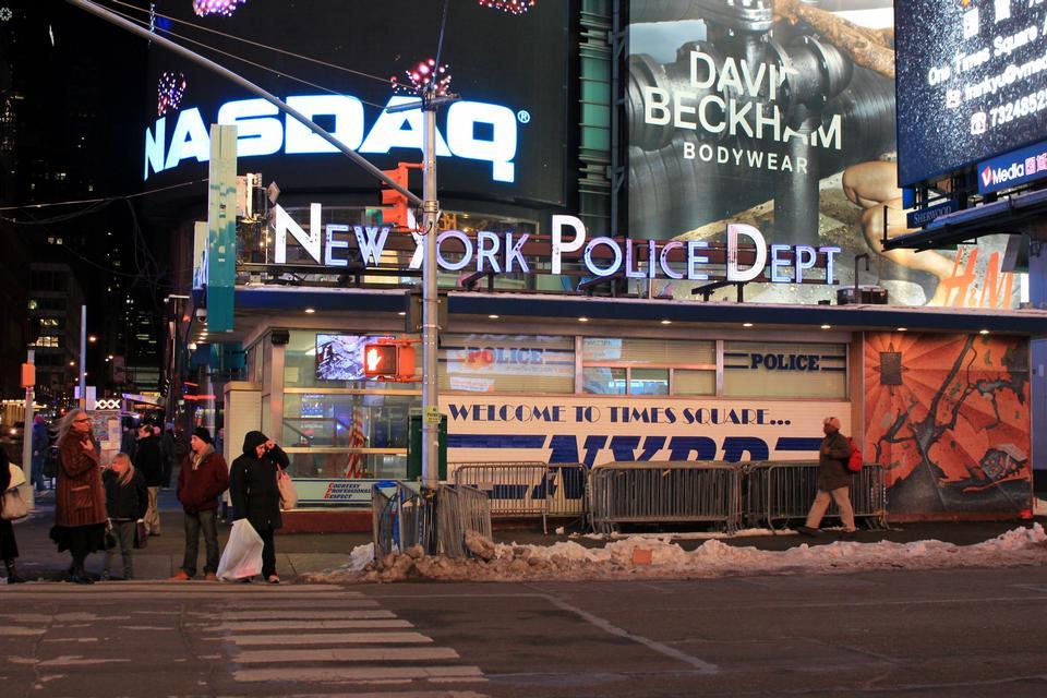 Composition symétrique du département de police de New York