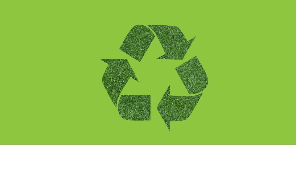 Зеленый символ рециркуляции