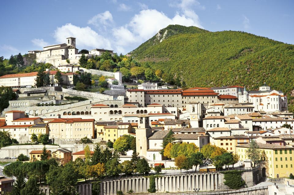Вид Каша, Умбрия, Италия