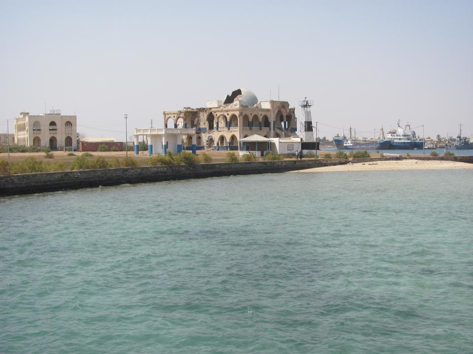 The old city of Massawa in Eritrea