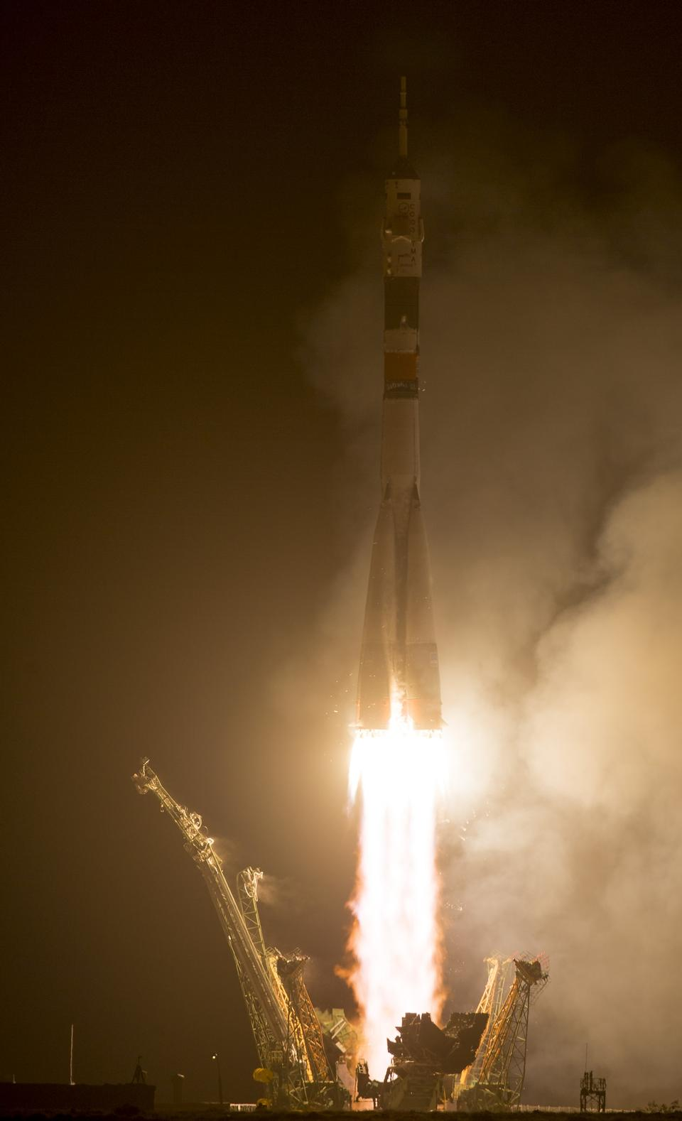 Expedition 40 Launches to the International Space Station