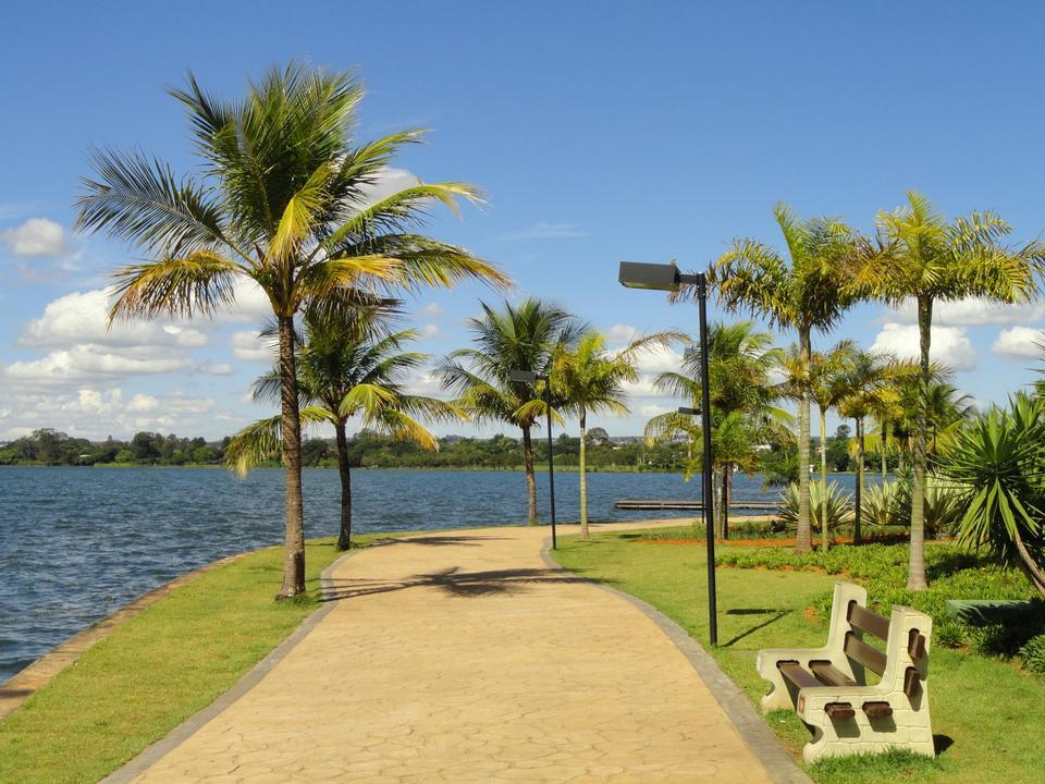 Paranoa See in Brasilia, Brasilien