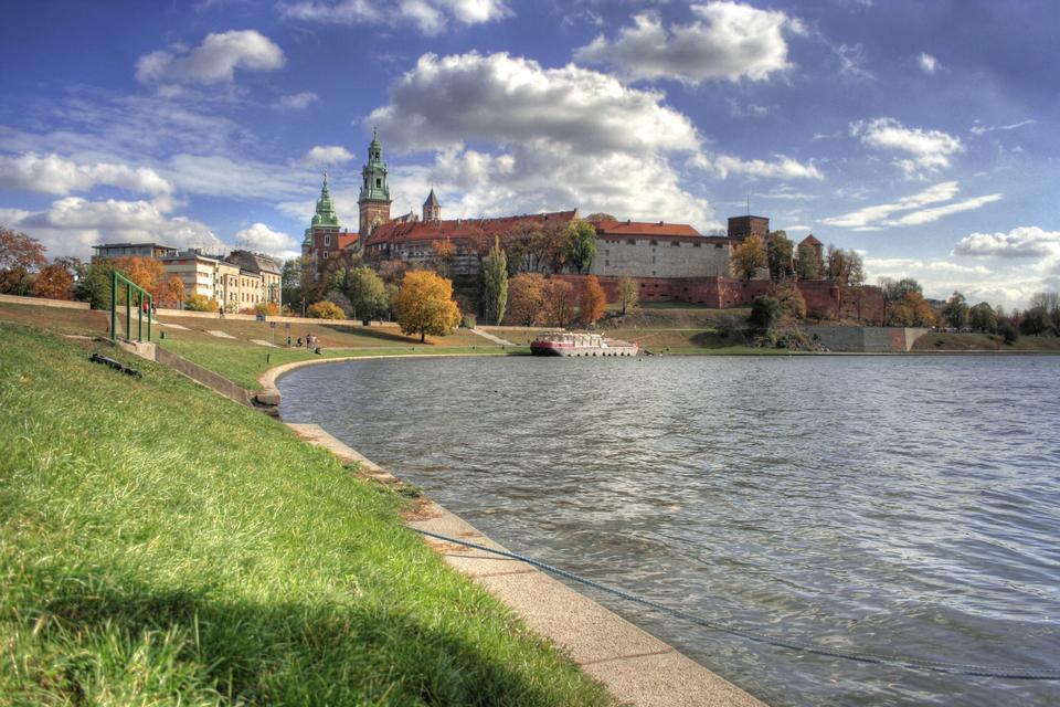 Krakow City in Polen