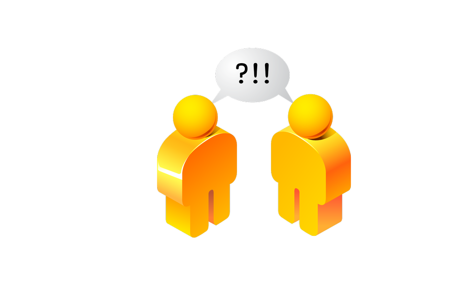 Dialogue,contact, conversational exchange between two
