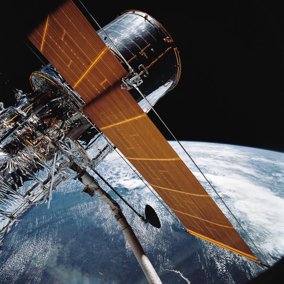 哈勃太空望遠鏡河段軌道