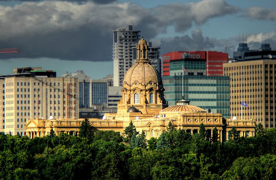 Il Palazzo del Parlamento Alberta