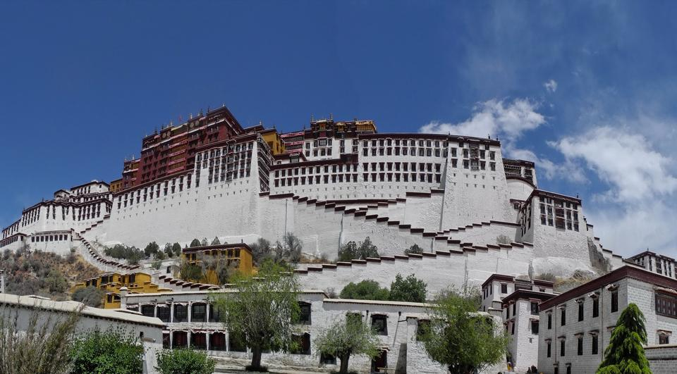 Potala Palace in Lhasa, China
