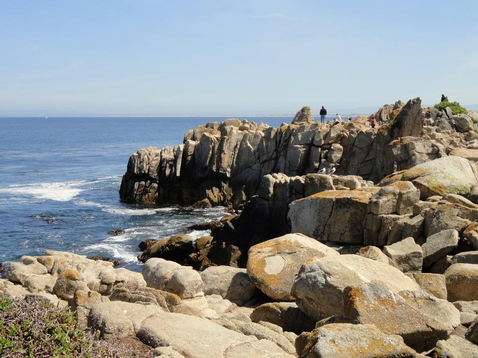 Lovers Point Park, Pacific Grove, Californie