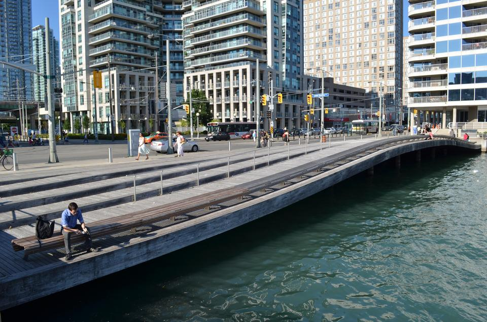 Waterfront WaveDeck  in Toronto, Ontario, Canada