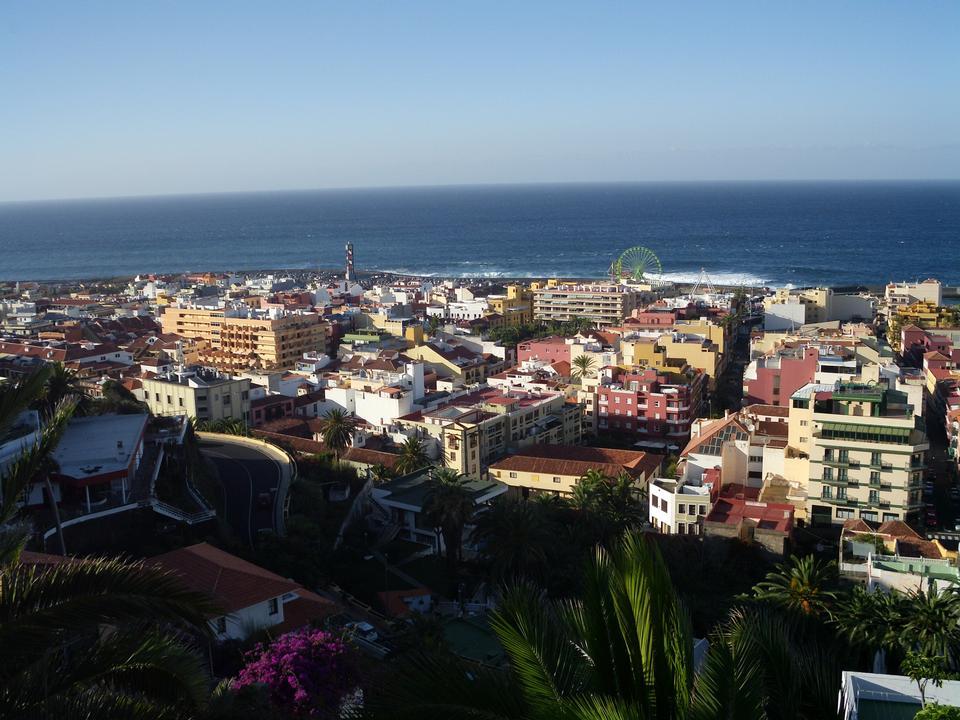 Lagos Martianes à Puerto de la Cruz, Tenerife, Espagne