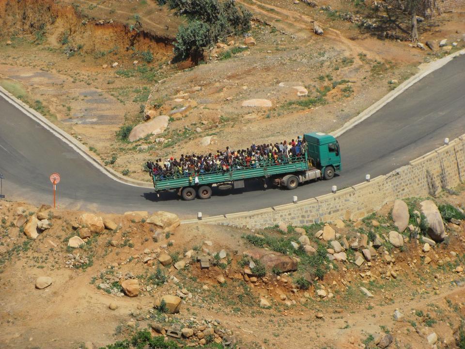 Transport public en Erythrée