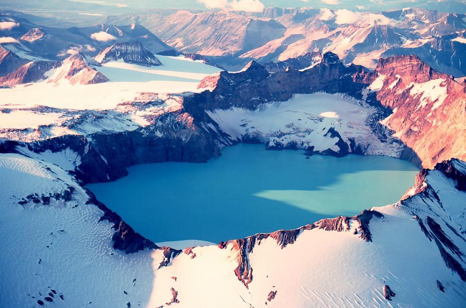 Katmai Crater - Katmai National Park
