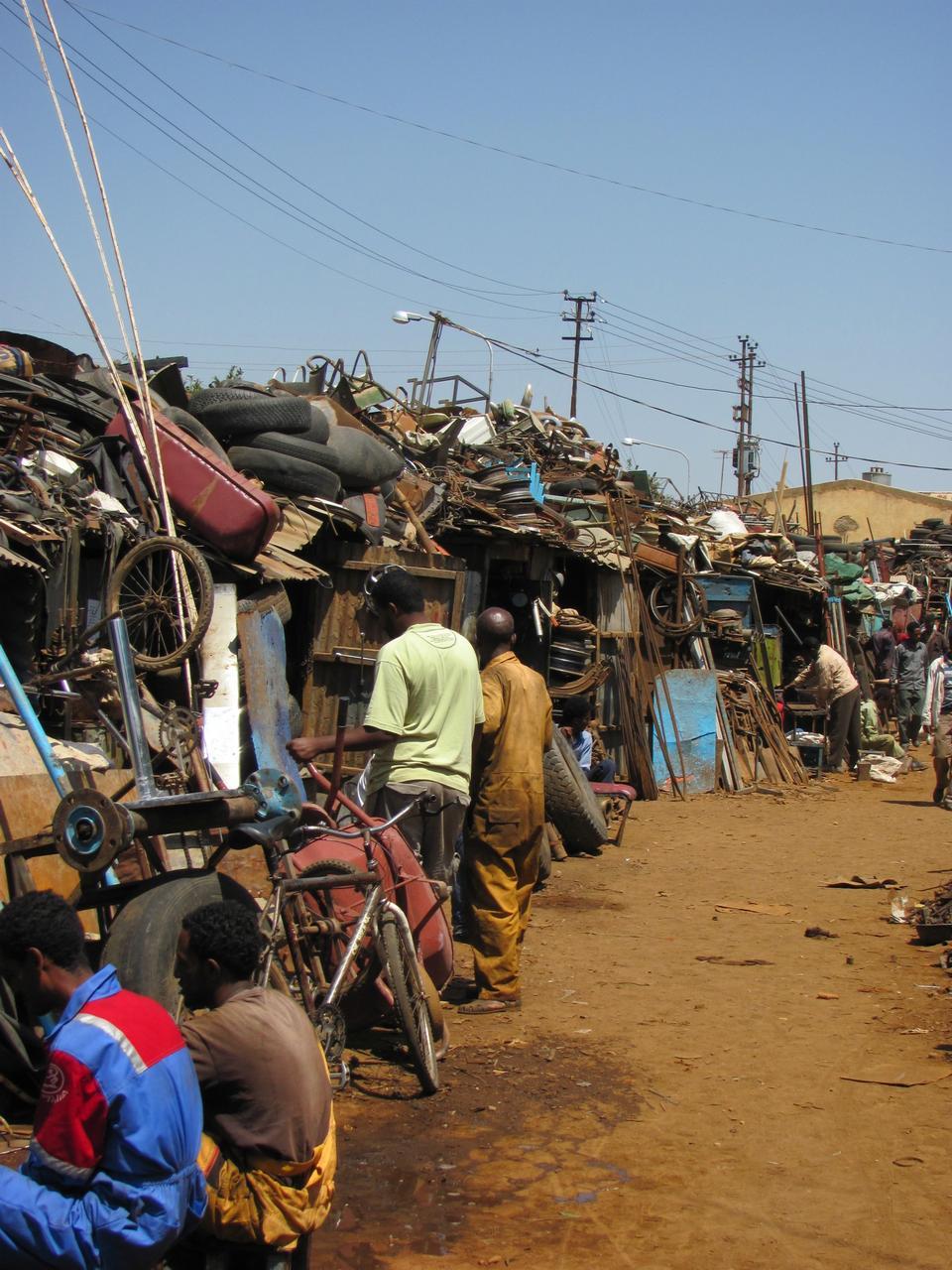 回收市场,阿斯马拉埃塞俄比亚