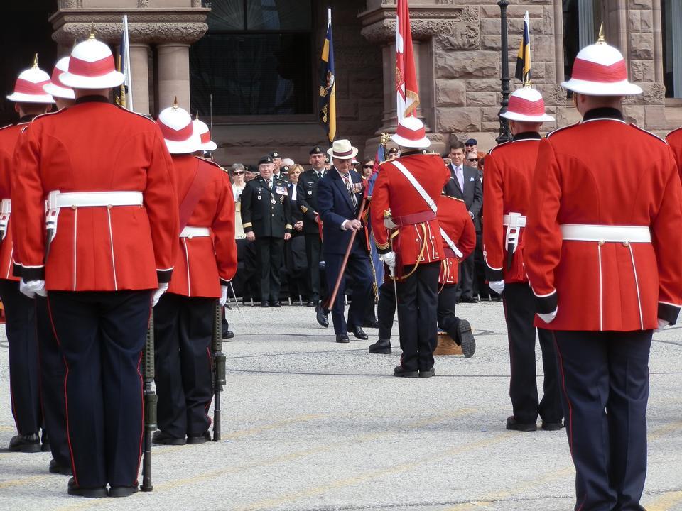 El Regimiento Real de Canadá. Canadá celebra