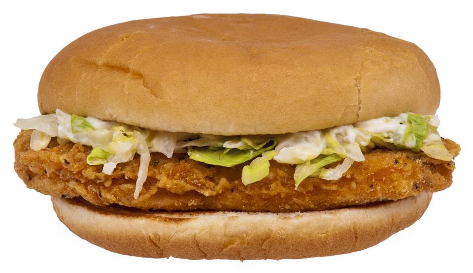 McDonald's McChicken sandwich