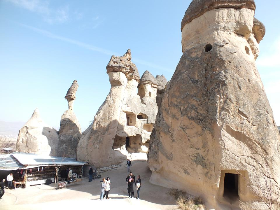 Pasabag谷位于格雷梅,卡帕多西亚,土耳其附近