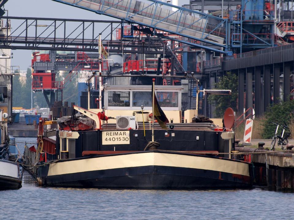 Port d'Amsterdam par jour