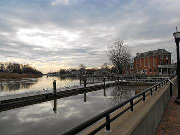 Download grátis imagem de alta resolução - Bloqueio oriental da Chesapeake e Delaware Canal