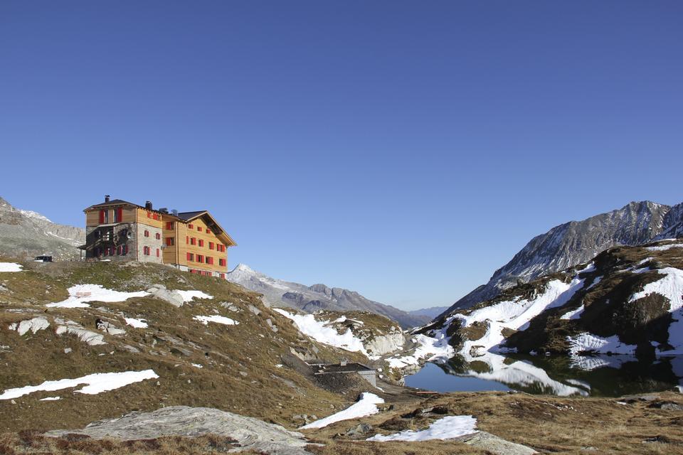Pfitscher-Joch-Haus em Zillertal